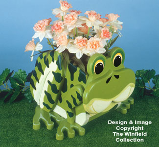 Frog Planter Wood Project Plan