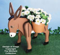 Donkey Planter Wood Project Plan