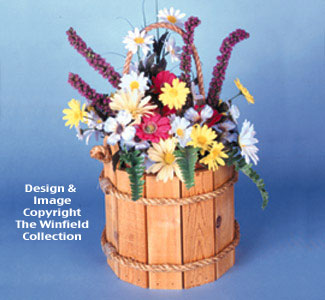Wooden Pail Woodworking Plan
