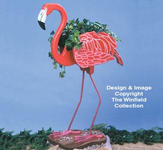 Flamingo Planter Wood Project Plan