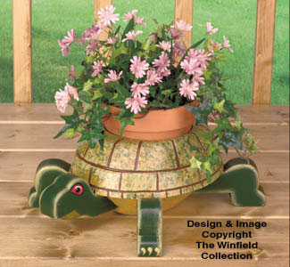 Turtle Planter Wood Project Plan