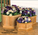 Planter Trio Woodworking Plan