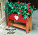 Country Porch Planter Wood Pattern