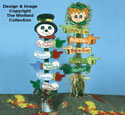 Holiday Sign Post Woodcrafting Pattern