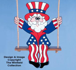 Swinging Uncle Sam Pattern