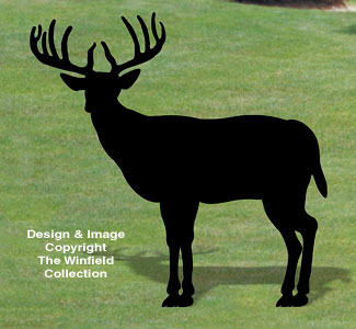 Standing Buck Shadow Woodcraft Pattern