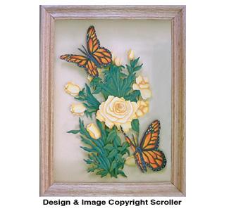 Butterflies Delight Scroll Saw Art Pattern