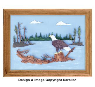 Silent Eagle Scroll Saw Pattern