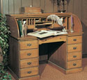 Roll - Top Desk Wood Plan
