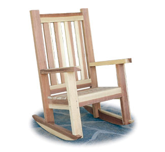 Porch Rocker Woodworking Plans