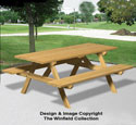 2 X 4 Picnic Table Woodworking Pattern