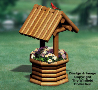 Landscape Timber Wishing Well Wood Plan
