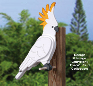 3D Giant Cockatoo Woodcraft Pattern
