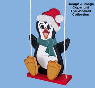 Swingin' Penguin Woodcrafting Pattern