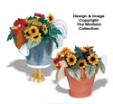 Rooster & Hen Planter Woodworking Pattern
