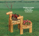 Landscape Timber Reindeer Planters Pattern