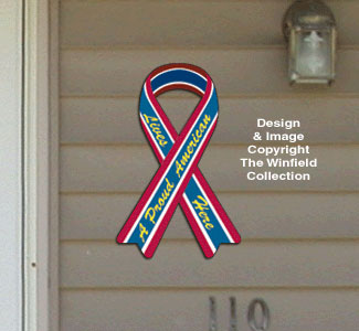 House Ribbon - Proud American Pattern