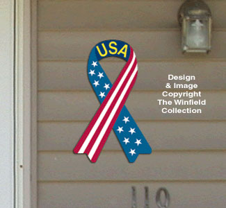 House Ribbon - USA Woodcraft Pattern