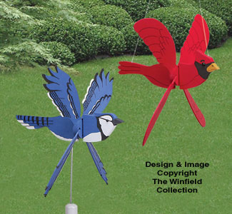 Whirling Wing Whirligigs Pattern Set 1