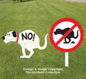 Doggie NO-GO Signs Woodcraft Pattern