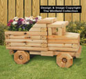Landscape Timber Dump Truck Planter Plans