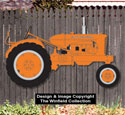 Large Allis Chalmers Tractor Woodcraft Pattern