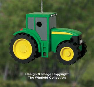 Tractor Birdhouse Woodworking Plans