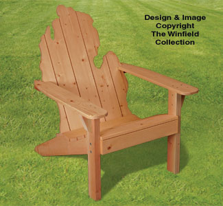All yard garden projects adirondack michigan chair plans - Patterns for adirondack chairs ...