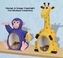 Fat Chimp & Giraffe Coin Bank Plans