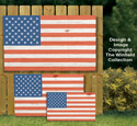 Pallet Wood Flags Pattern