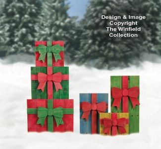 All Christmas Pallet Wood Gifts Pattern