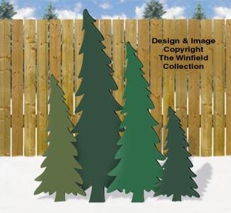 Swaying Pines Pattern