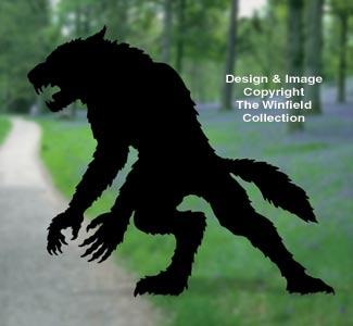 Werewolf Woodcraft Pattern