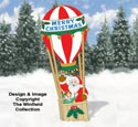 Ballooning Santa Woodcraft Pattern
