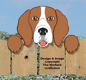 Beagle Fence Peeker Pattern