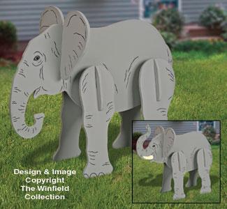 Lucky Yard Elephant Pattern
