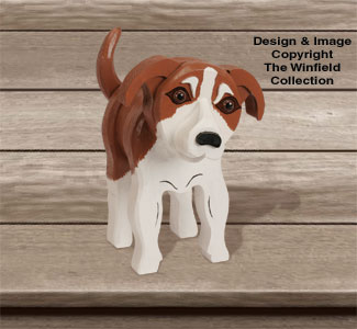 Layered Beagle Terrier Pattern