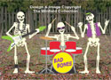 Skeleton Rock Band Woodcraft Pattern