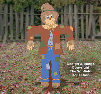 Life-Size Scarecrow Woodcraft Pattern