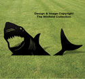 Yard Shark Shadow Woodcraft Pattern