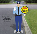 Life-Size Traffic Cop Pattern