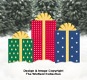 Large Christmas Gifts Pattern