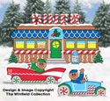 Gingerbread Diner Woodcraft Pattern