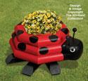 Landscape Timber Ladybug Planter Plan