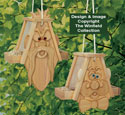 Cedar Men Bird Feeders #2 Pattern