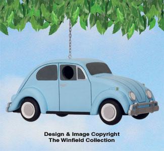 VW Beetle Birdhouse Pattern