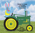 Easter Bunny Tractor Driver Pattern