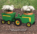 Tractor and Wagon Planter Plan