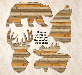 Pallet Wood Wall Art Pattern Set #5