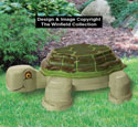 Giant 3D Layered Turtle Pattern
